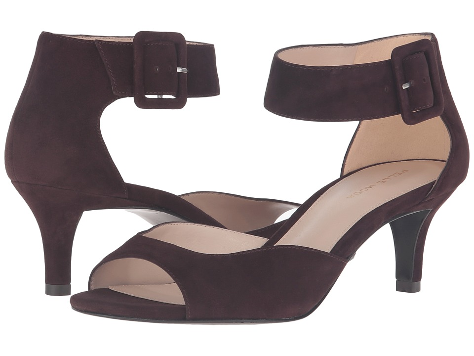 Pelle Moda - Berlin (Chocolate Suede) High Heels