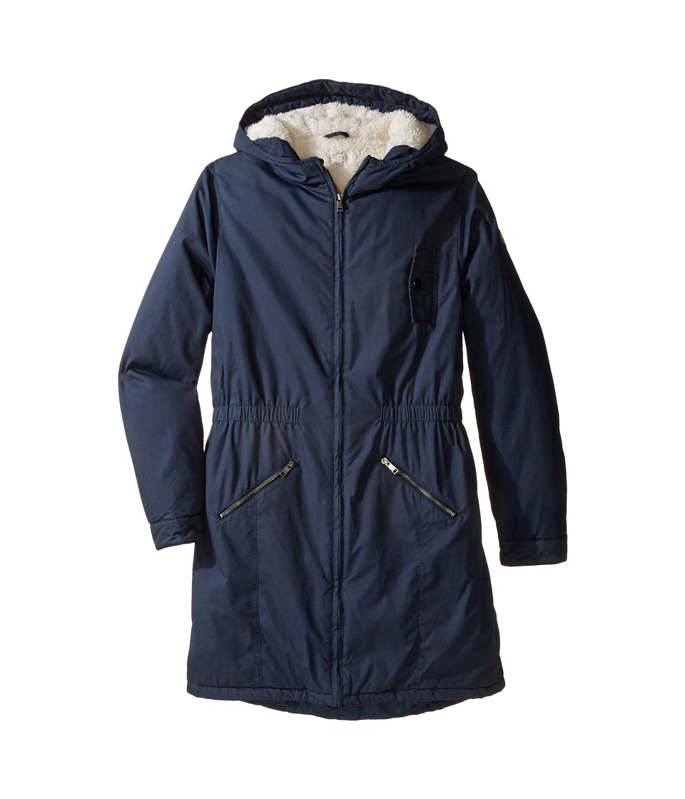 Paul Smith Junior - Hooded Winter Jacket (Big Kids) (Petrol Blue) Boy's Coat