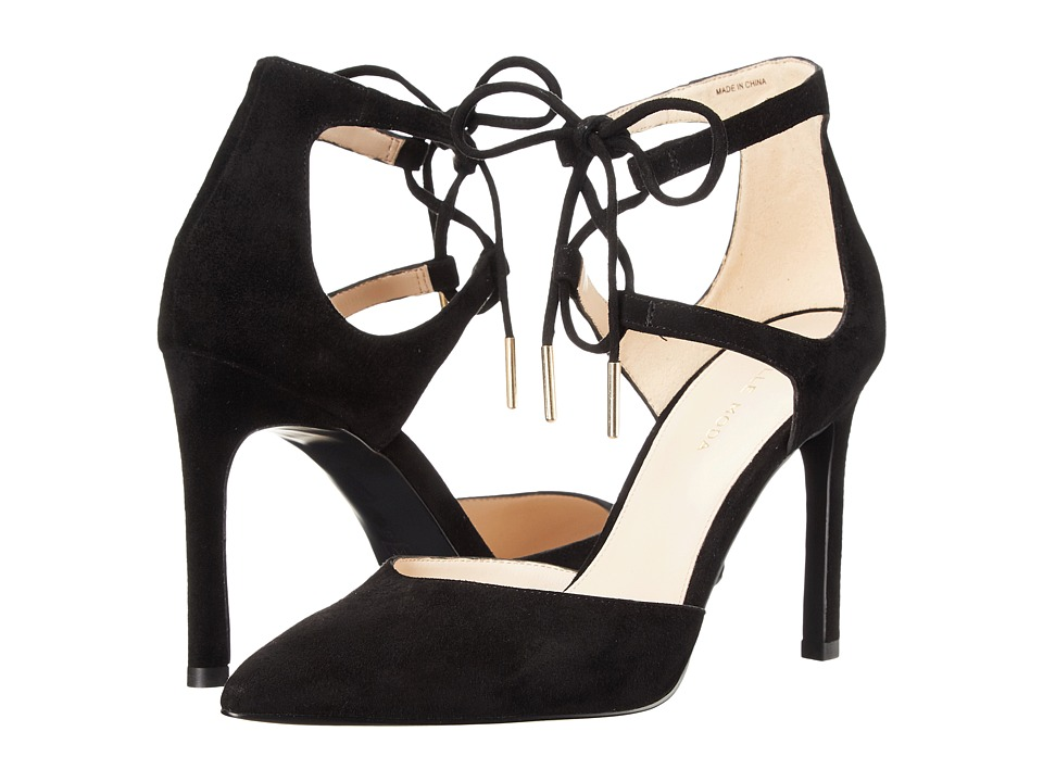 Pelle Moda Dori (Black Suede) High Heels
