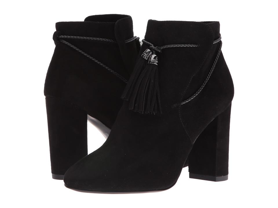 Pelle Moda - Fredi (Black Suede) Women's Boots