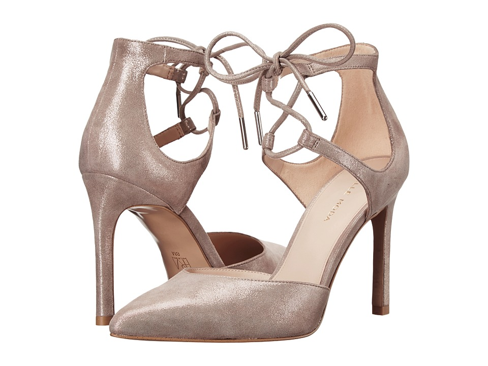 Pelle Moda Dori (Taupe Shimmer Suede) High Heels