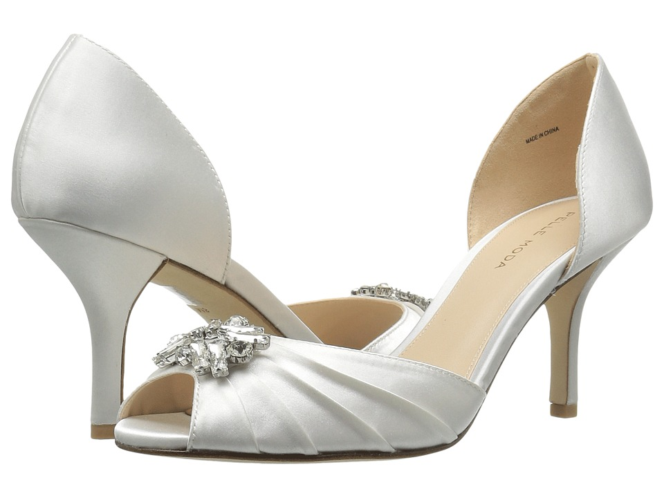 Pelle Moda - Ilan 2 (White Classified Bridal Satin) High Heels