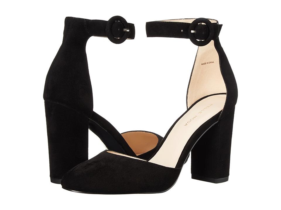 Pelle Moda - Fritz (Black Suede) High Heels