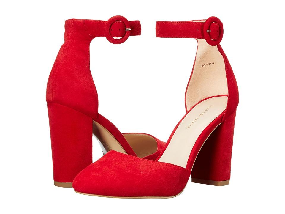 Pelle Moda - Fritz (Lipstick Suede) High Heels