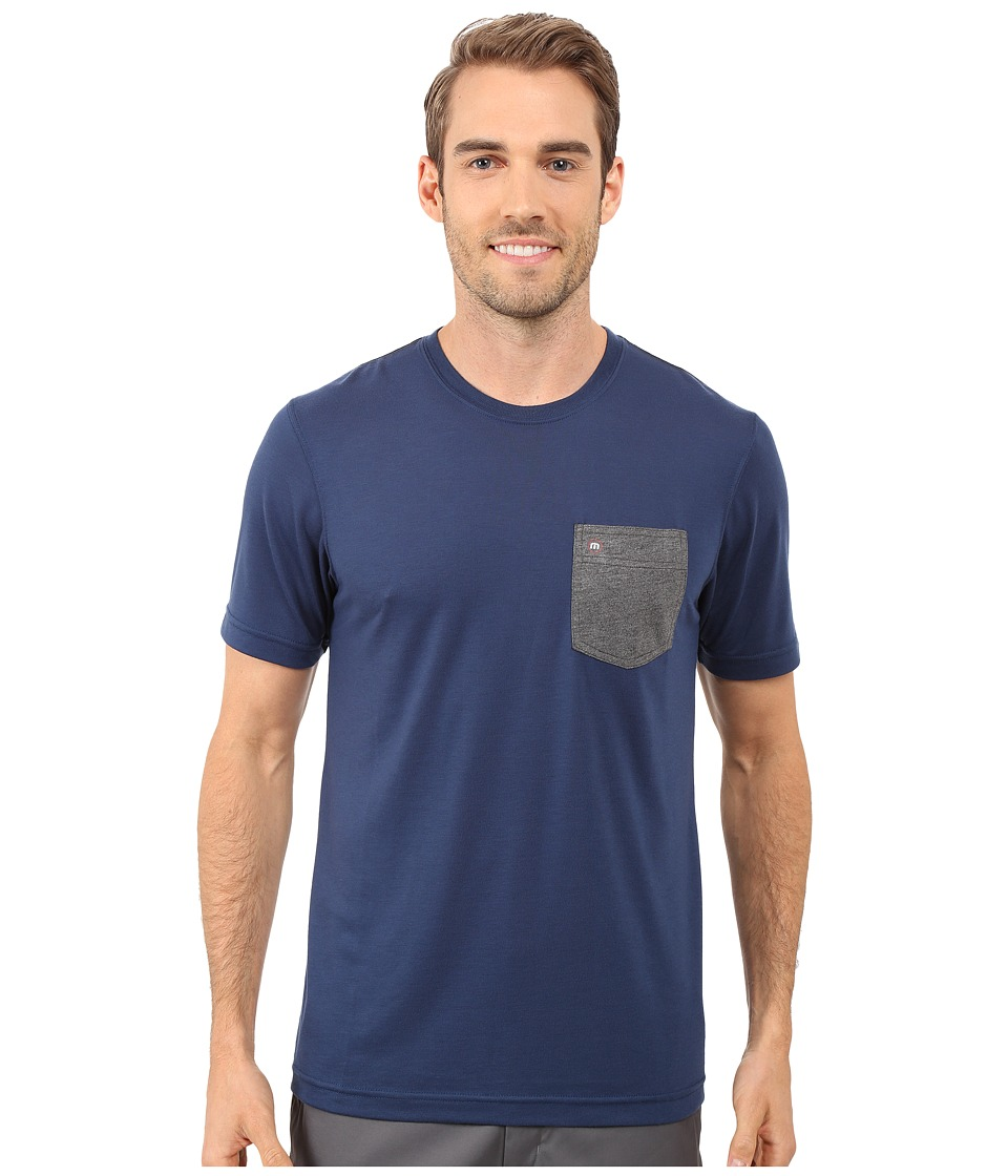TravisMathew - Stellar (Insignia Blue) Men's Clothing