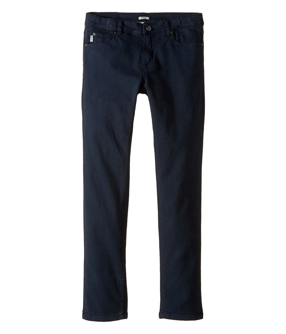 Paul Smith Junior - Plain Fitted Jeans in Petrol Blue (Big Kids) (Petrol Blue) Boy's Jeans
