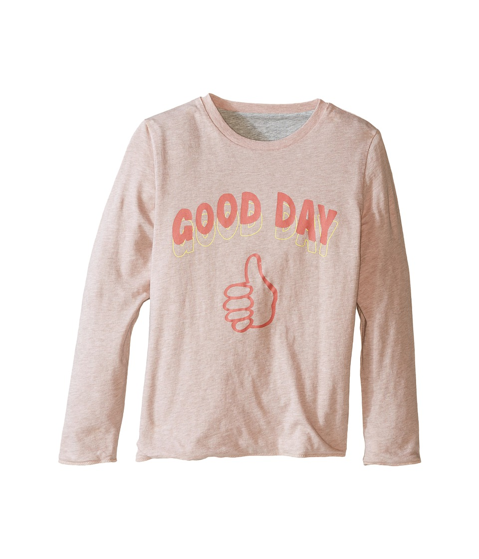 Stella McCartney Kids - Coby Good Day/Bad Bay Reversible T-Shirt (Toddler/Little Kids/Big Kids) (Pink) Girl's T Shirt