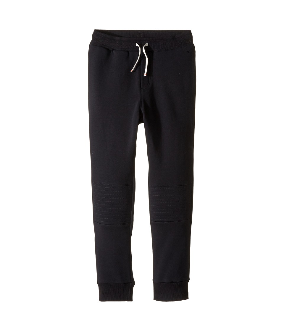 Junior Gaultier - Black Sweatpants (Big Kids) (Black) Boy's Casual Pants