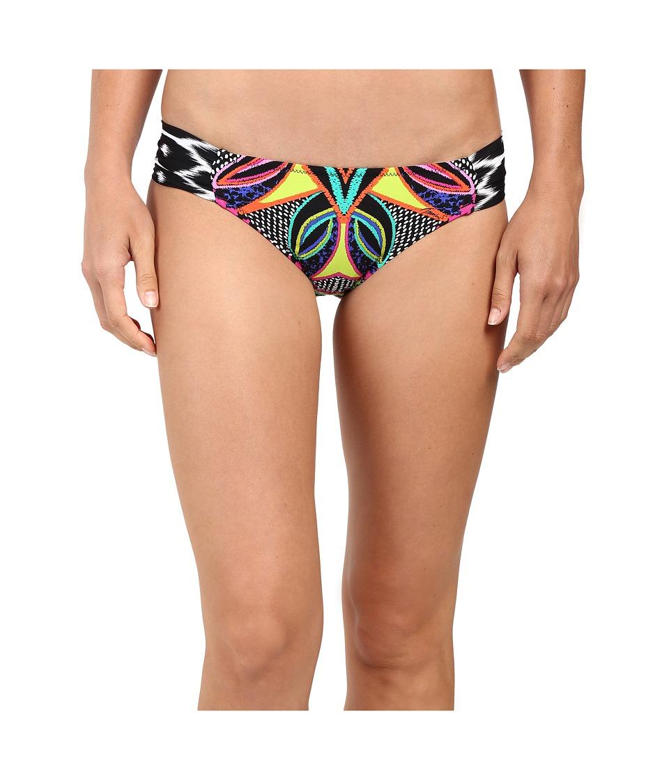 Trina Turk - Africana Shirred Side Hipster (Multi) Women's Swimwear