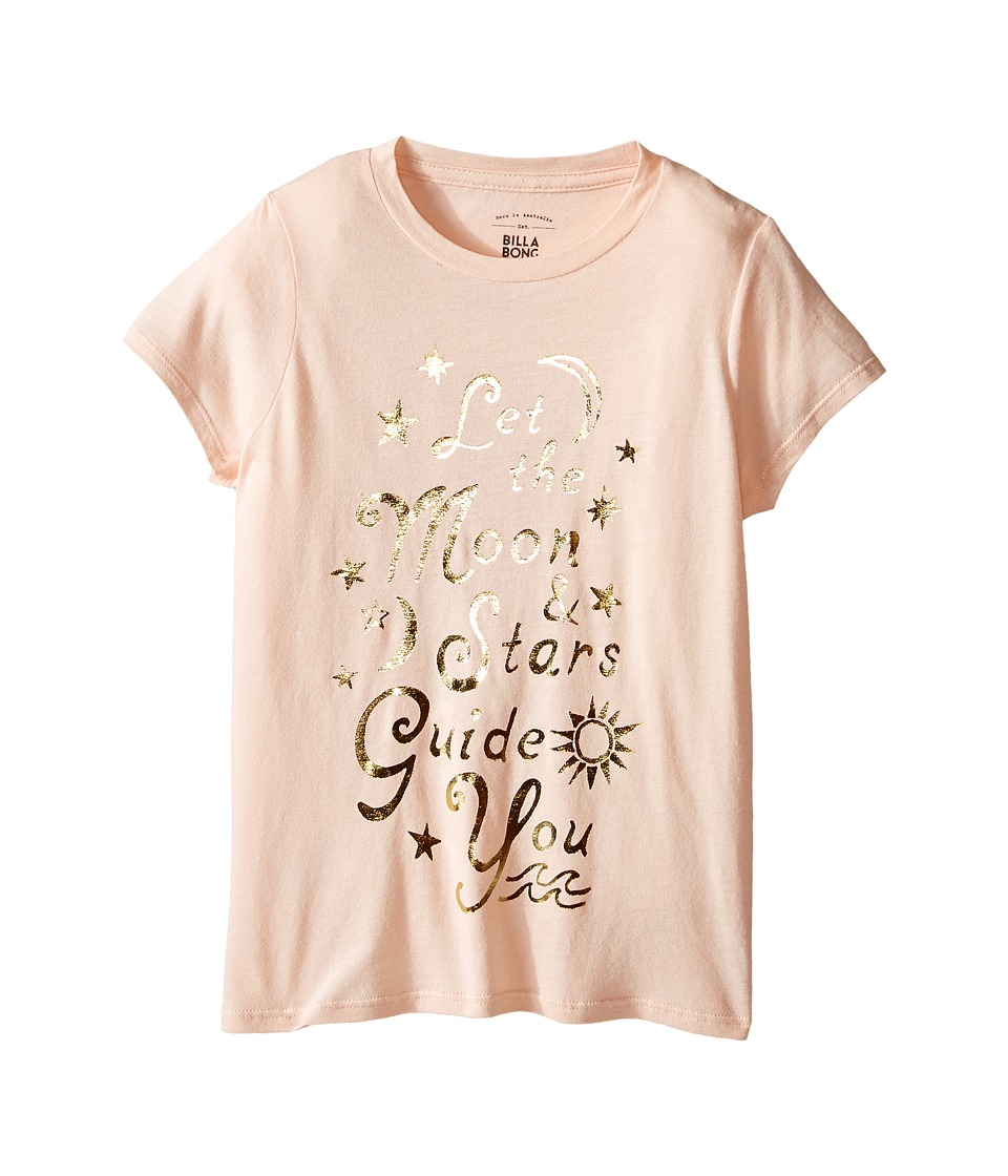 Billabong Kids - Map the Stars Tee (Little Kids/Big Kids) (Tanline) Girl's T Shirt