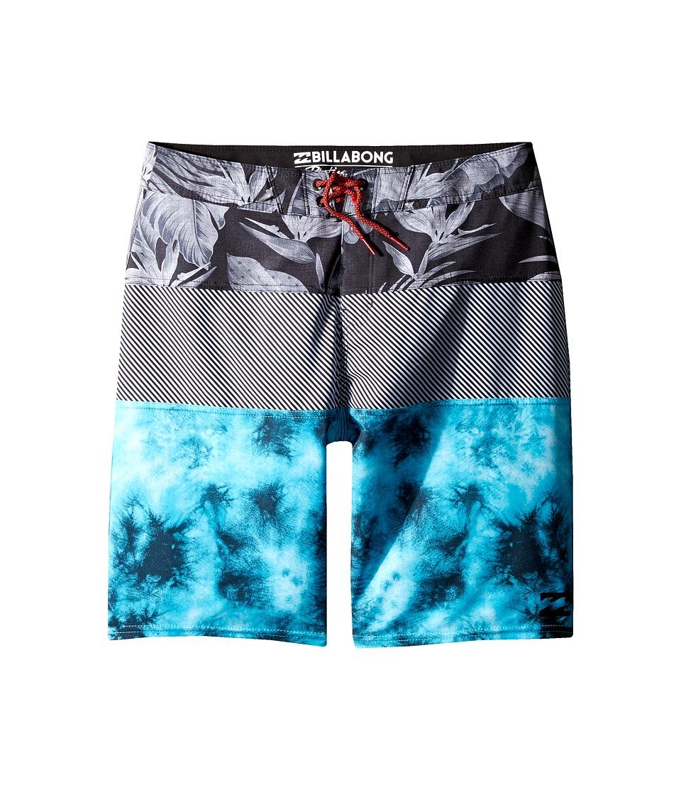 Billabong Kids - Tribong X Havana Boardshorts (Big Kids) (Aqua) Boy's Swimwear
