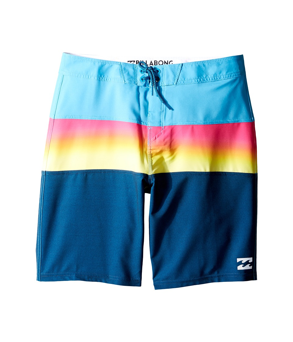 Billabong Kids - Tribong X Boardshorts (Big Kids) (Navy) Boy's Swimwear
