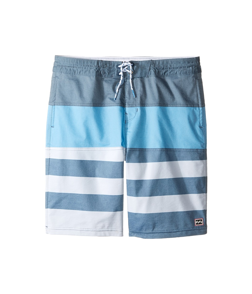 Billabong Kids - Tribong Mash Lo Tides (Big Kids) (Navy) Boy's Swimwear