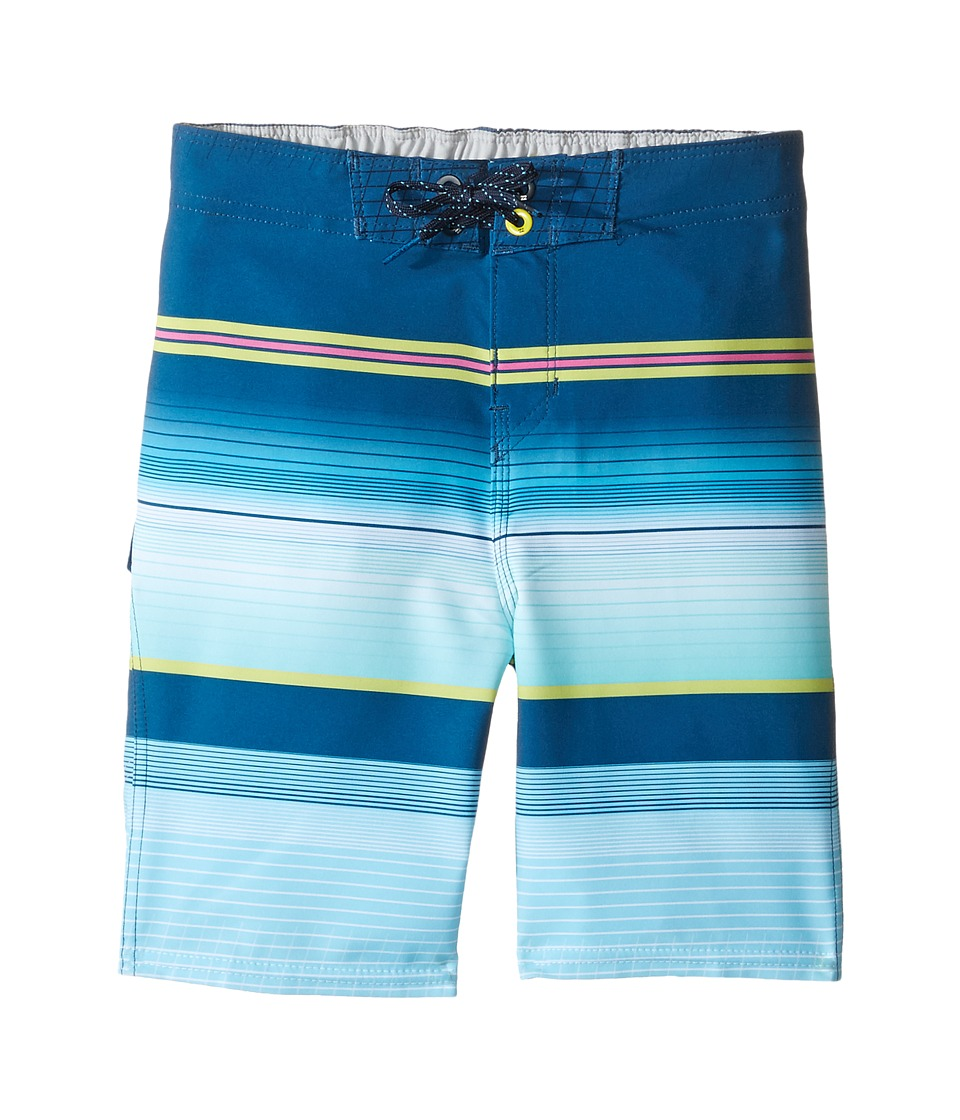Billabong Kids - All Day X Stripe Boadrshorts (Toddler/Little Kids) (Indigo) Boy's Swimwear