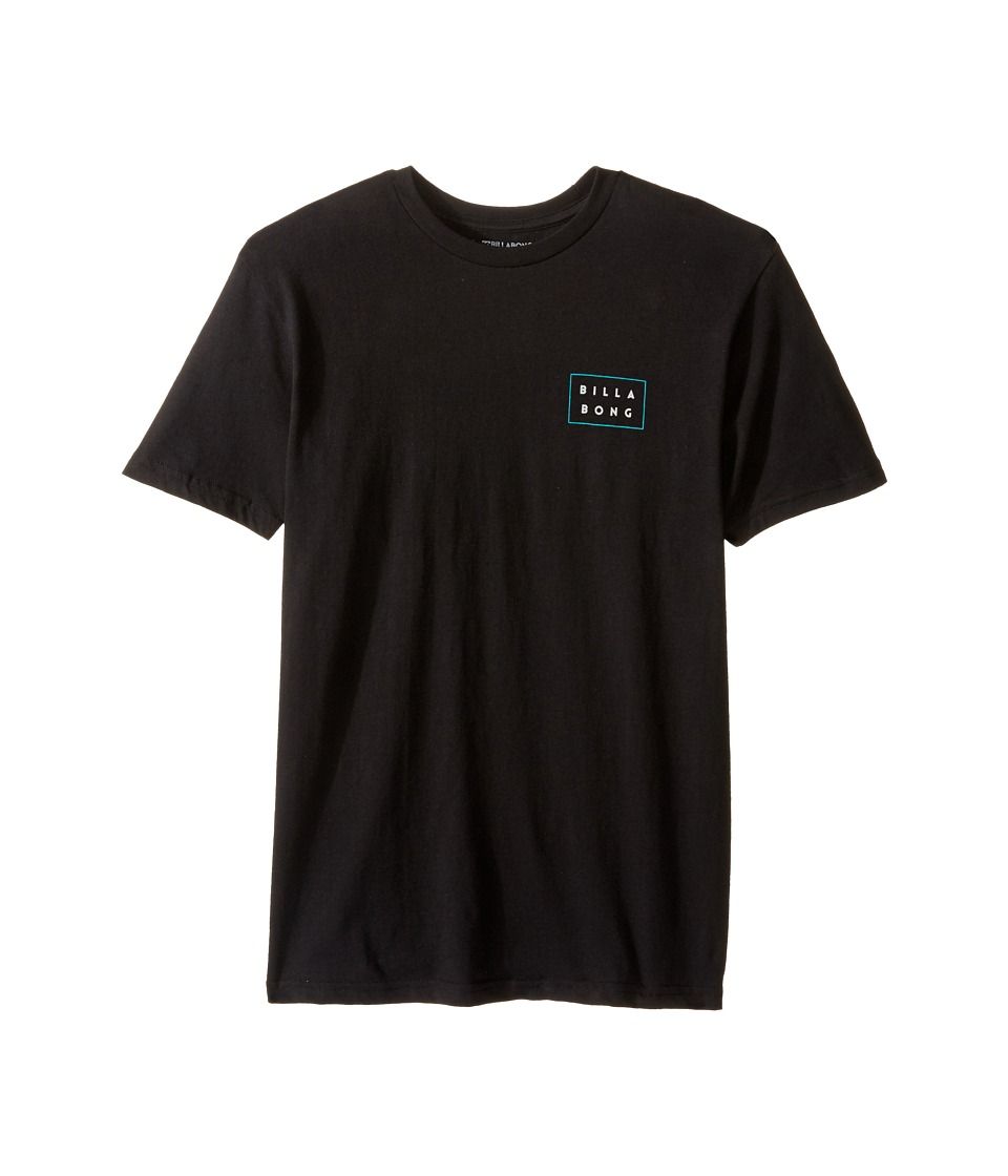 Billabong Kids - Die Cut T-Shirt (Big Kids) (Black) Boy's T Shirt