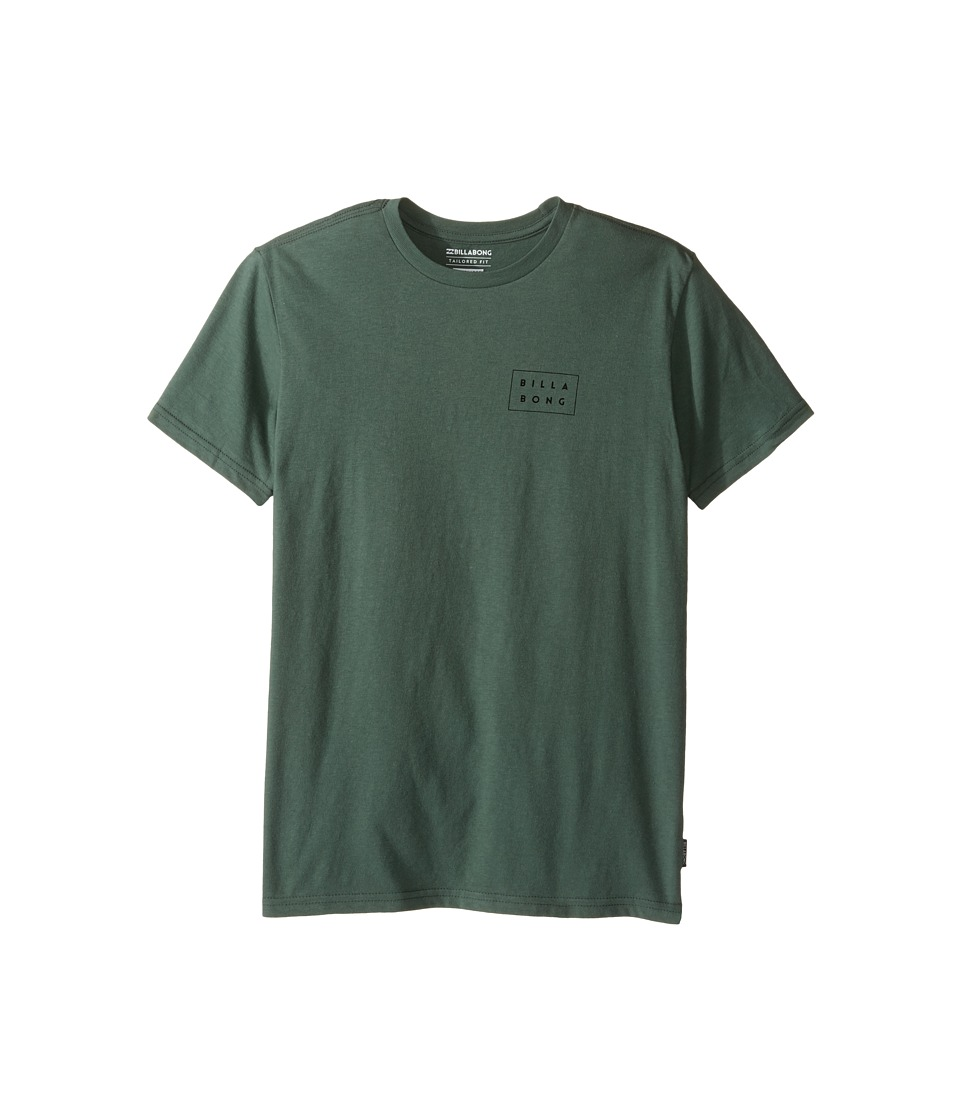 Billabong Kids - Die Cut T-Shirt (Big Kids) (Forest) Boy's T Shirt
