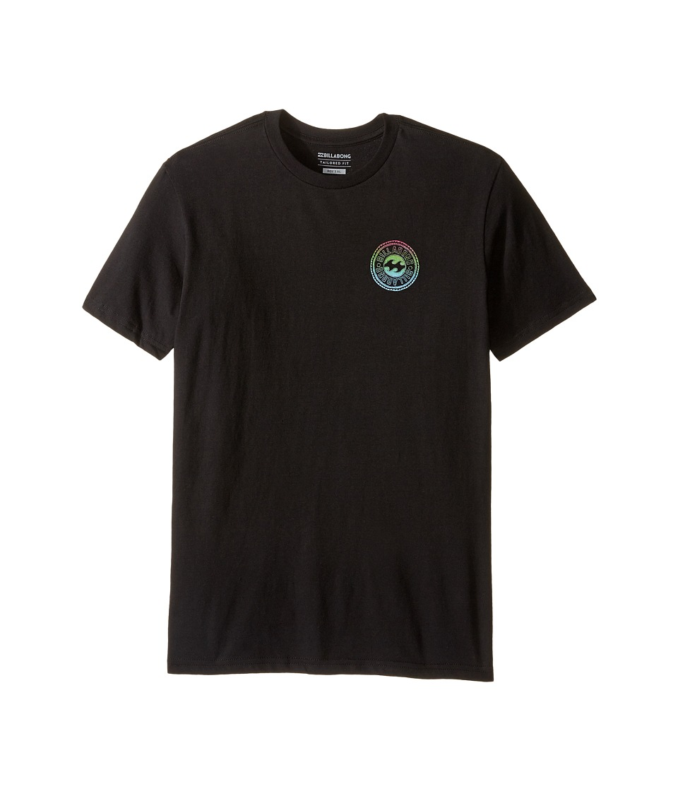 Billabong Kids - Flip Wave T-shirts (Big Kids) (Black) Boy's T Shirt