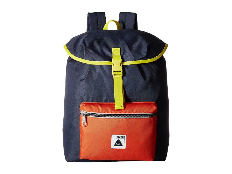 Poler - Field Pack Backpack (Navy) Backpack Bags
