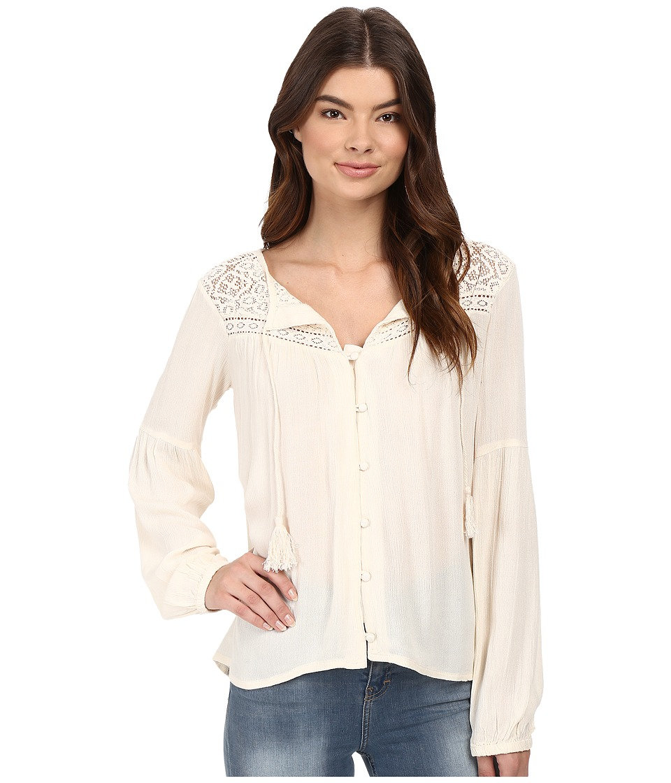 Billabong - Desert Coast Blouse (Almond) Women's Blouse