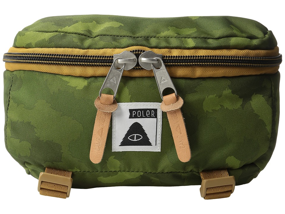 Poler - Rover Bag (Green Furry Camo) Backpack Bags