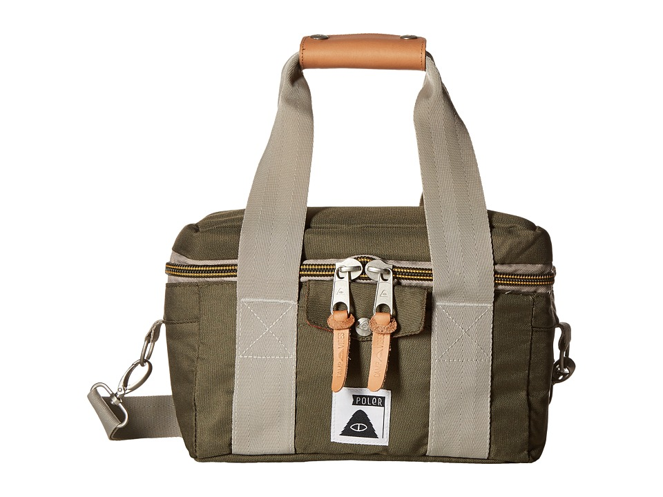 Poler - Camera Cooler (Burnt Olive) Duffel Bags
