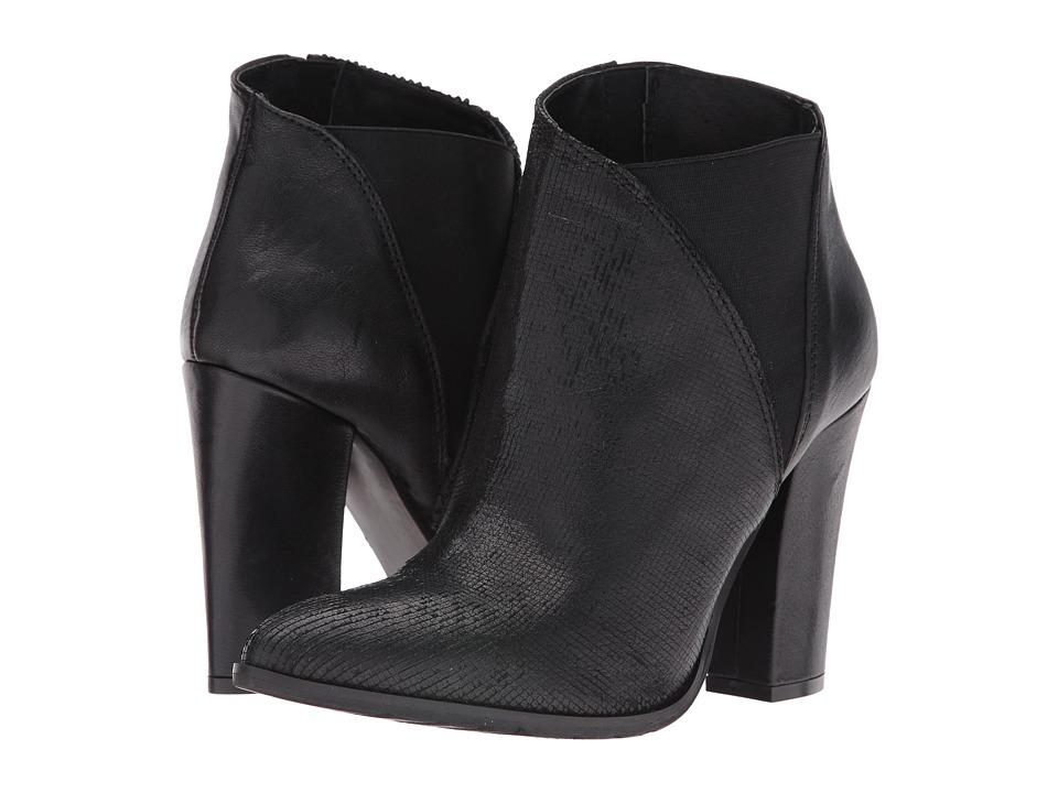 Charles David - Charles David - Charla (Black Leather) Women's Shoes