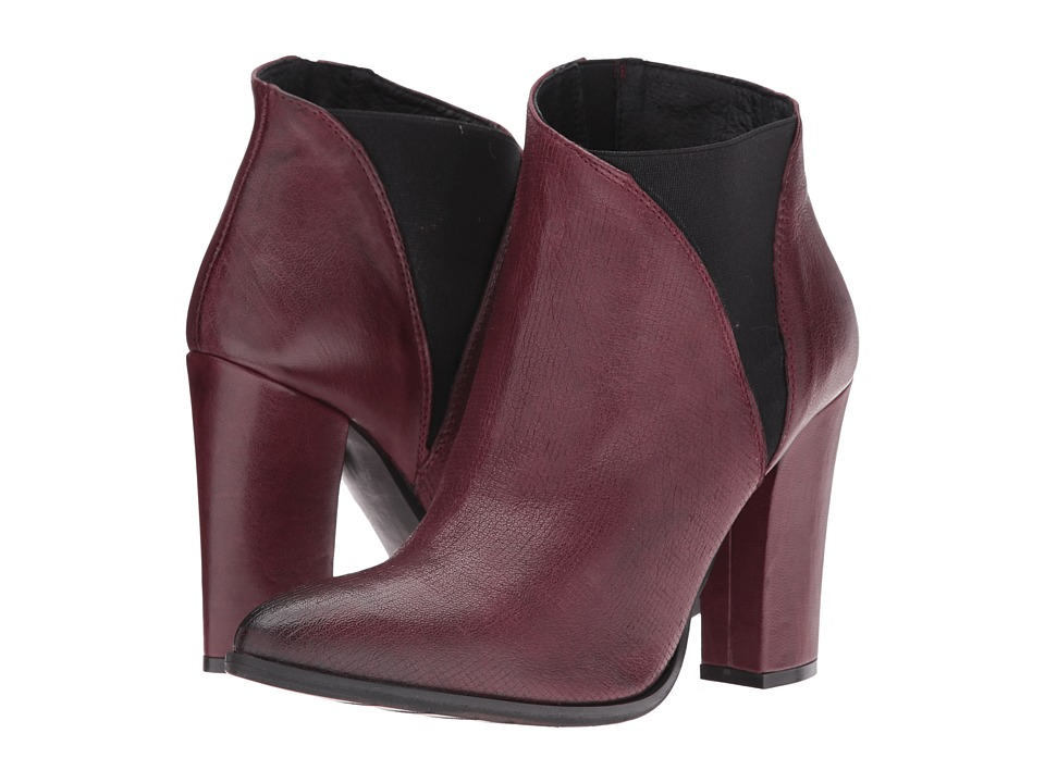 Charles David - Charles David - Charla (Bordo Leather) Women's Shoes