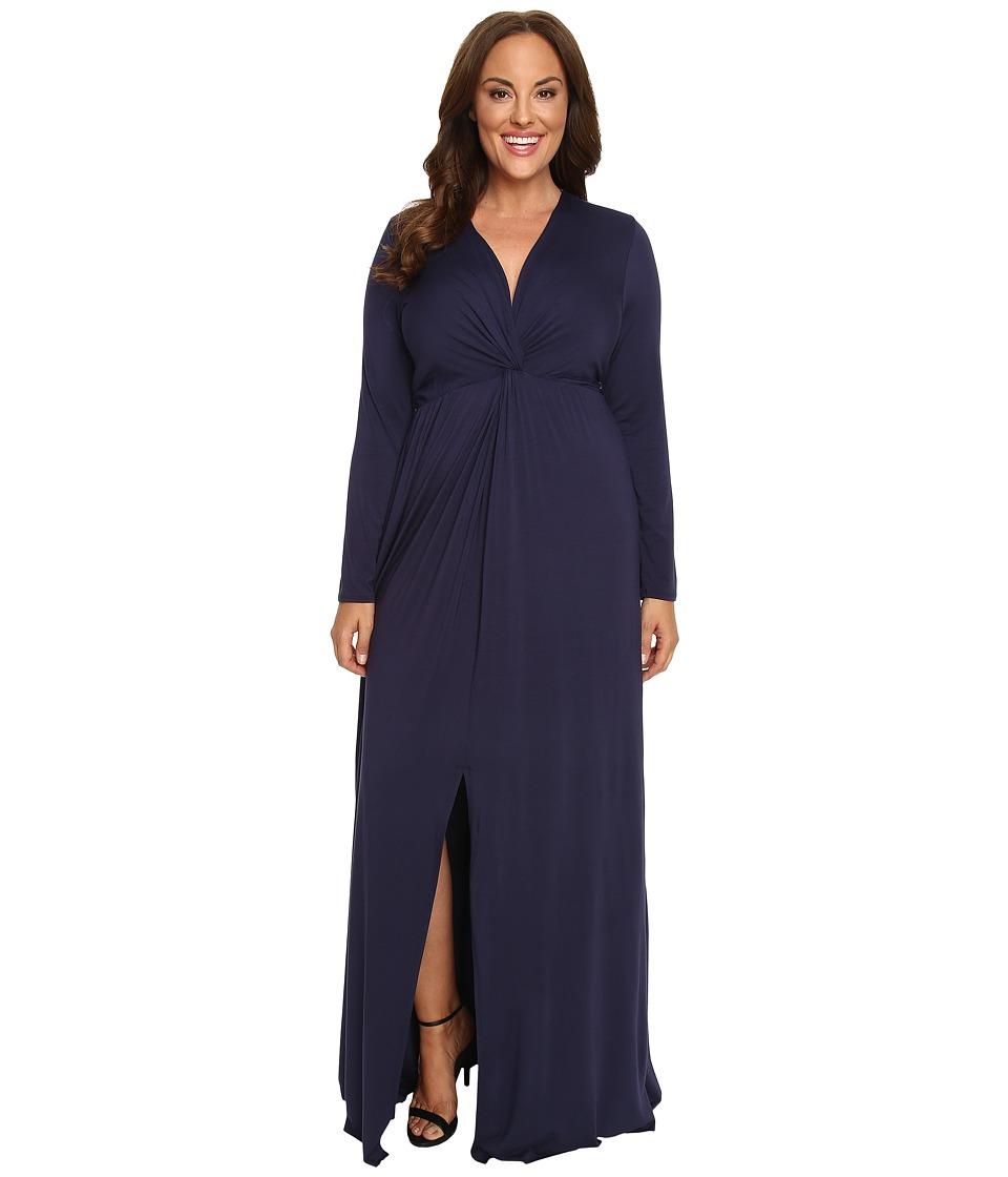 Rachel Pally Plus - Plus Size Rosemarie Dress White Label (Nightfall) Women's Dress