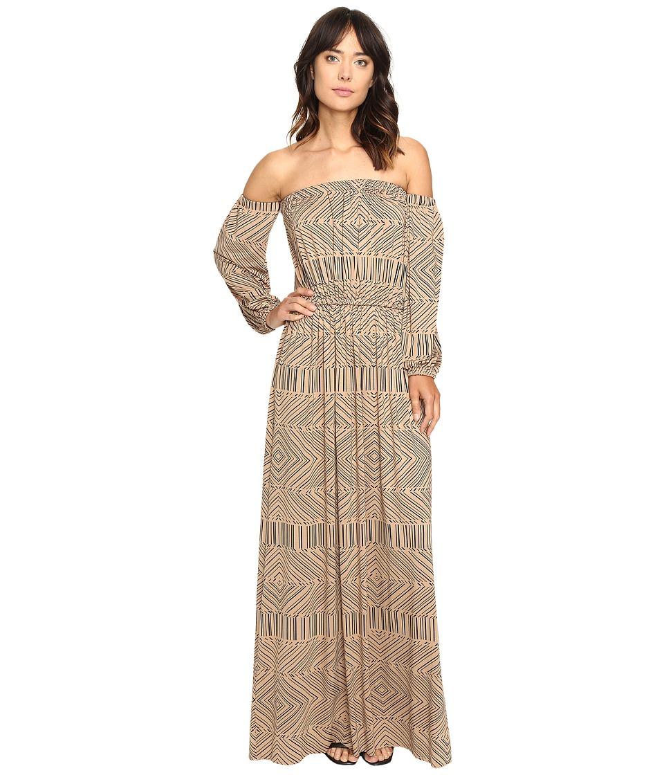 Rachel Pally India Dress Print (Black Optic) Women