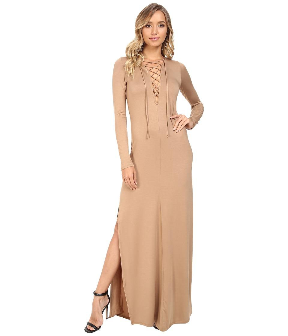 Rachel Pally Long Sleeve Jolene Dress (Sandstone) Women