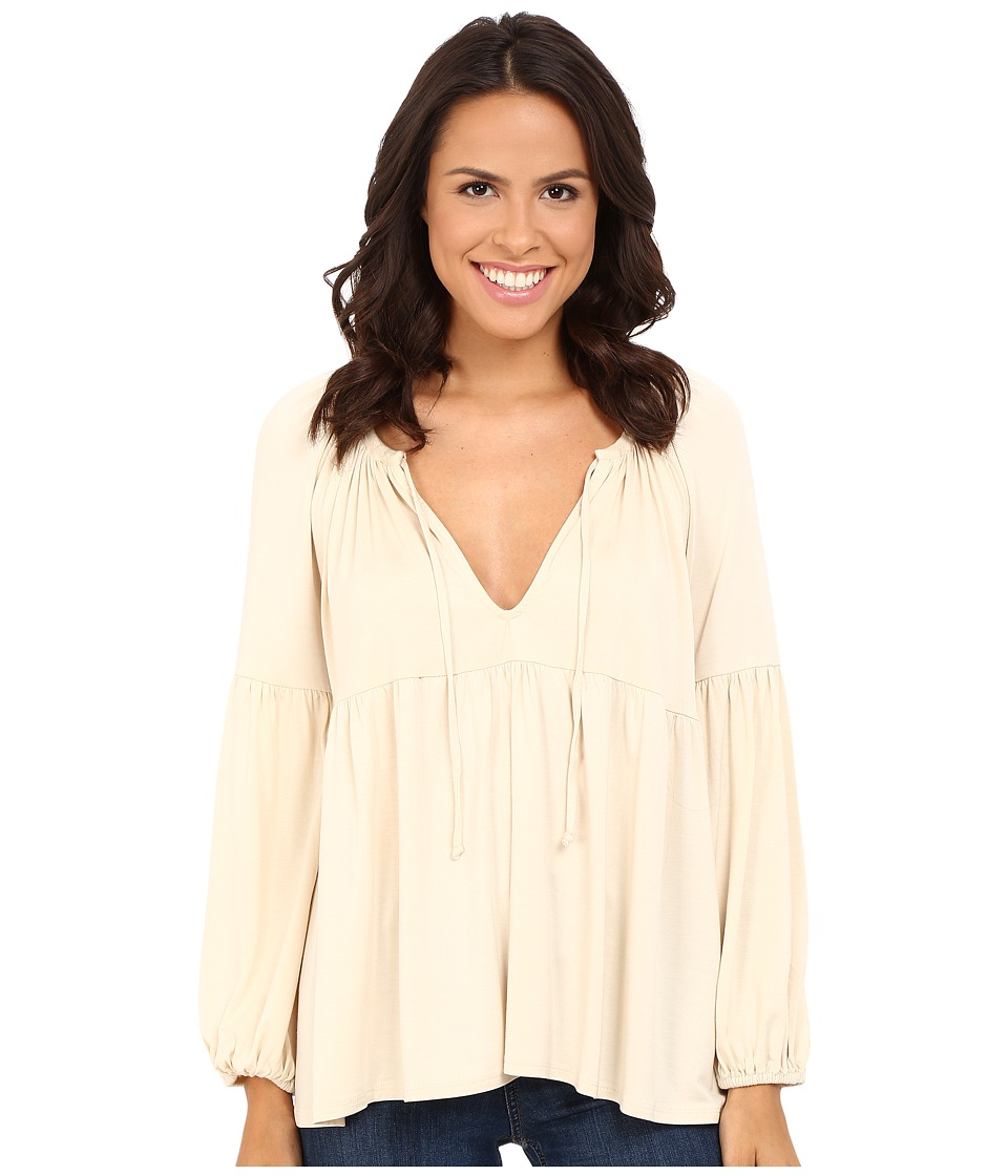 Rachel Pally - Rupert Top (Cream) Women's Clothing