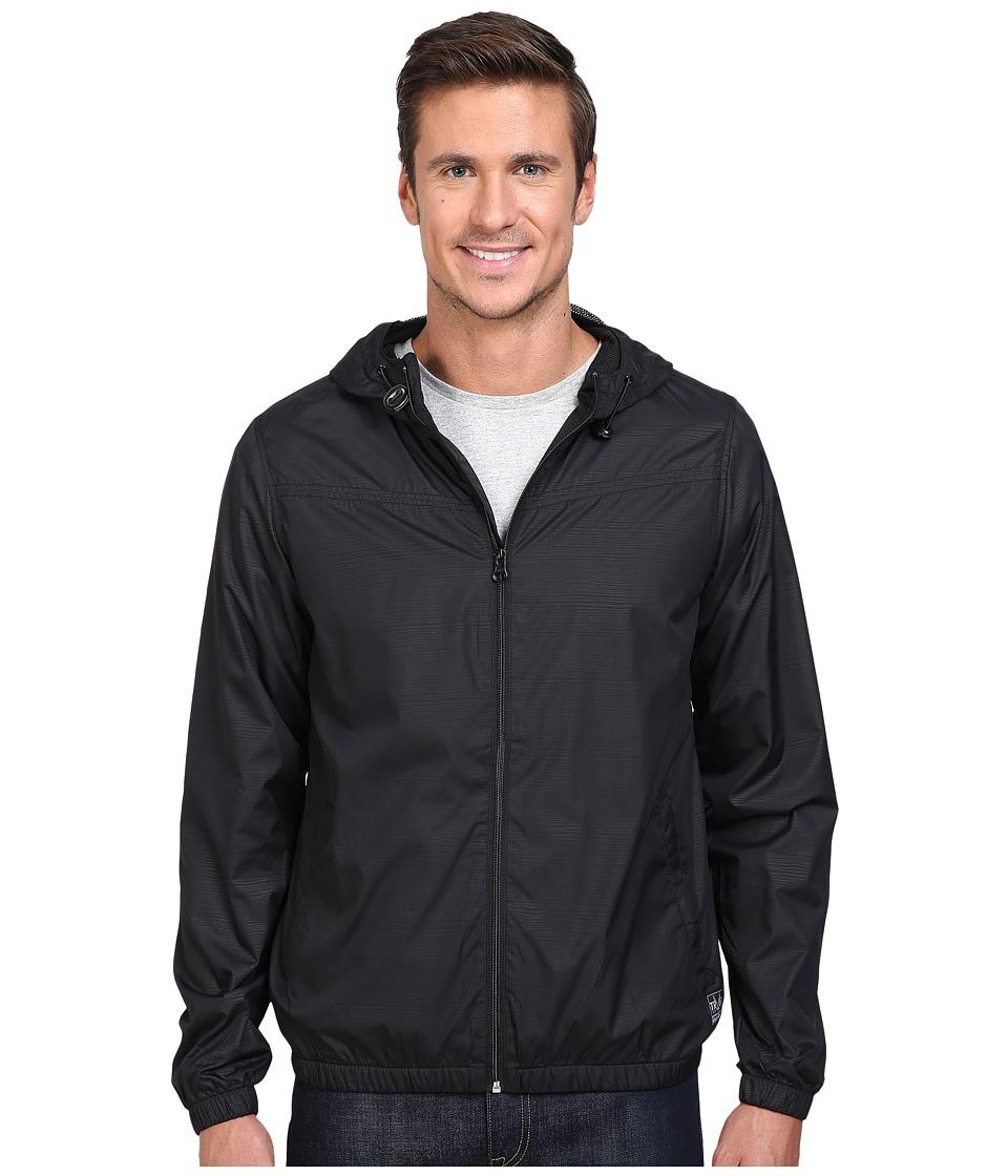O'Neill - Traveler Windbreaker (Black) Men's Coat