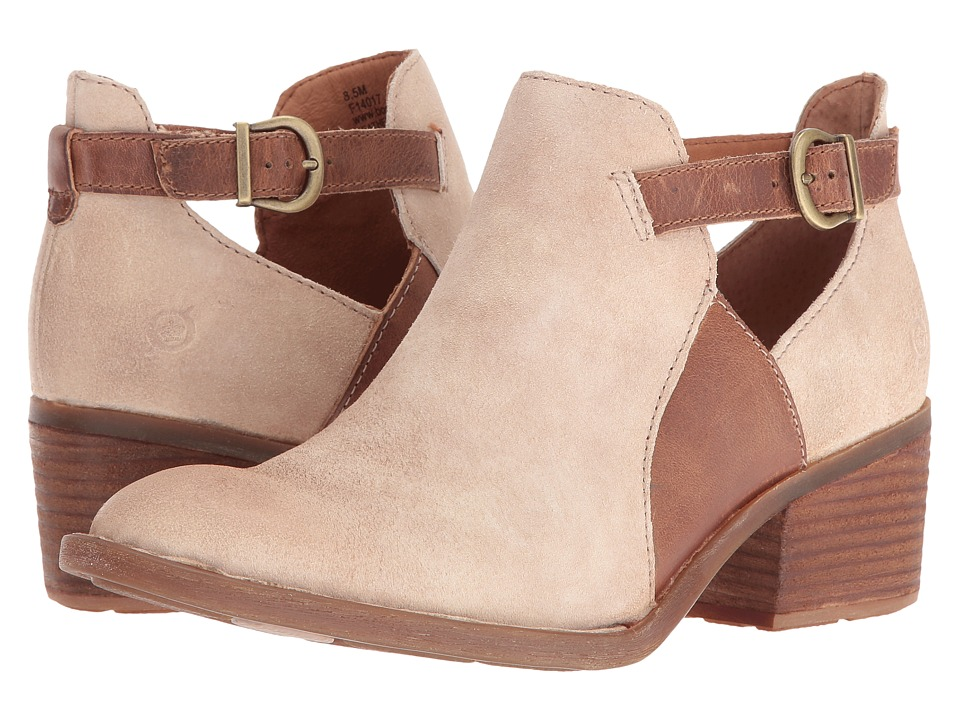Born - Carin (Taupe/Natural) Women's Shoes