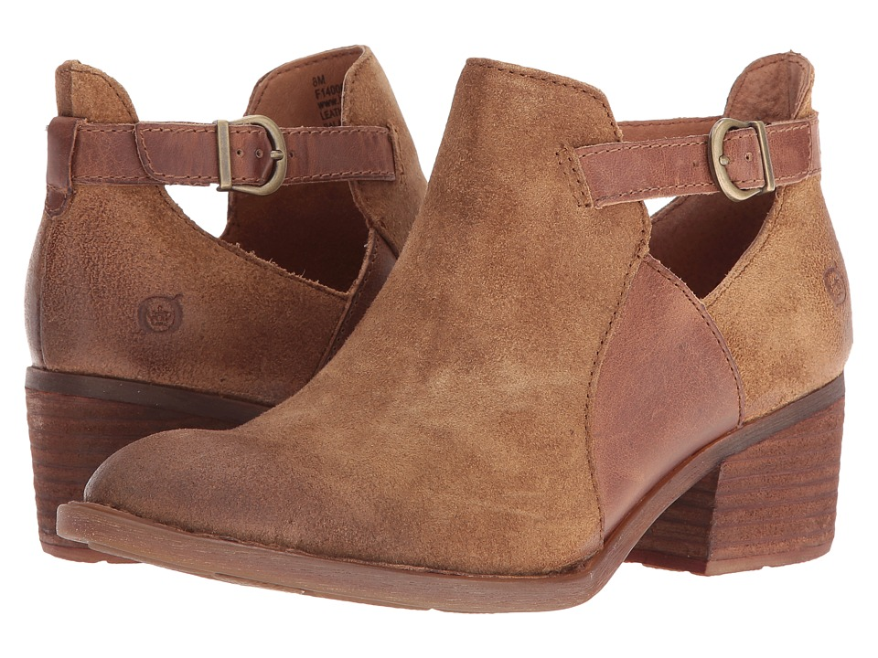 Born - Carin (Brown/Natural) Women's Shoes
