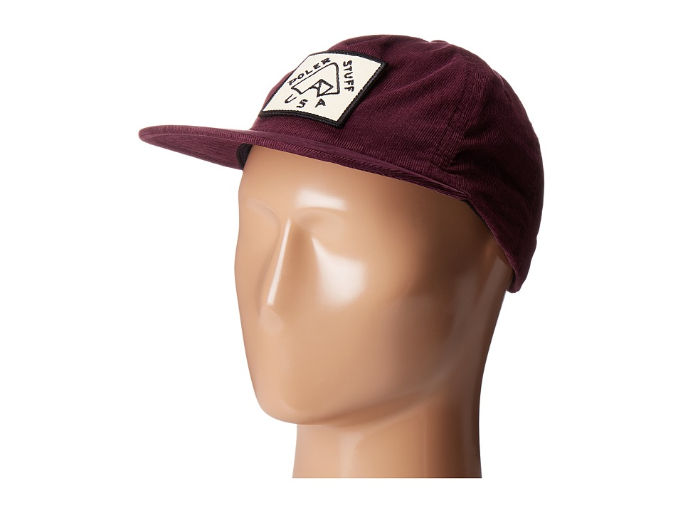 Poler - Tent Grampa Cordy Hat (Plum) Caps