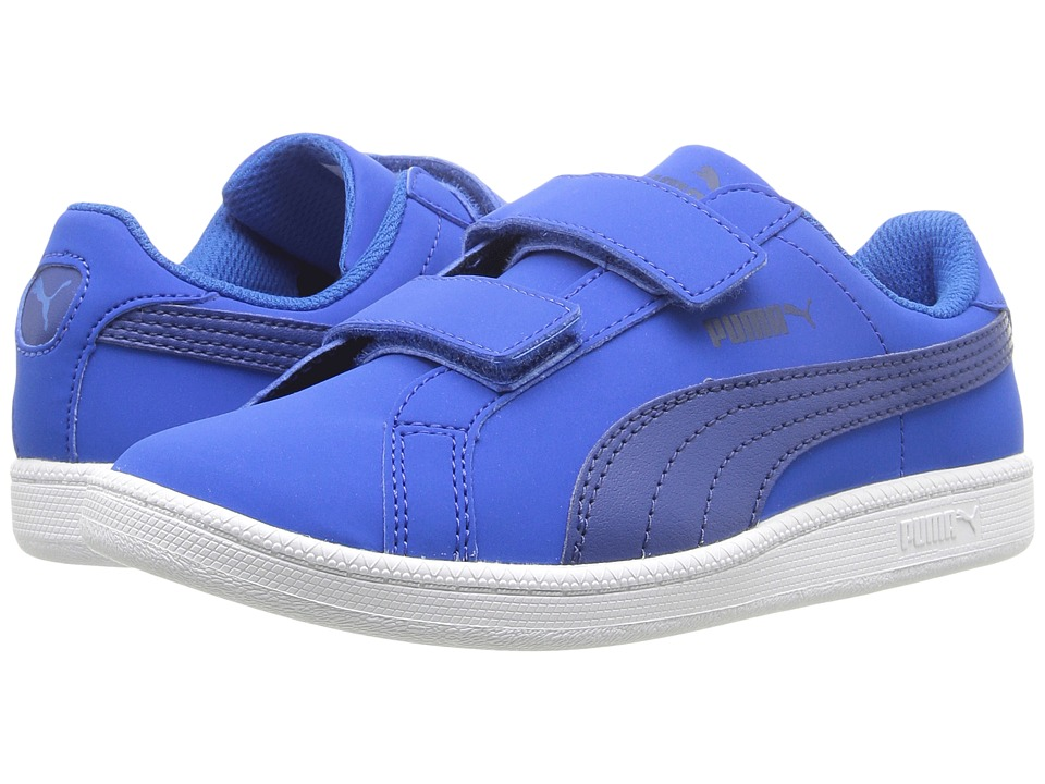Puma Kids - Smash Fun Buck V (Toddler/Little Kid/Big Kid) (Blue) Kid's Shoes