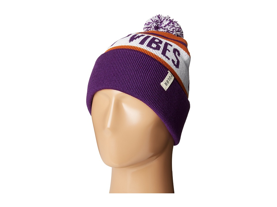 Poler - Gas Station Beanie (Purple) Beanies
