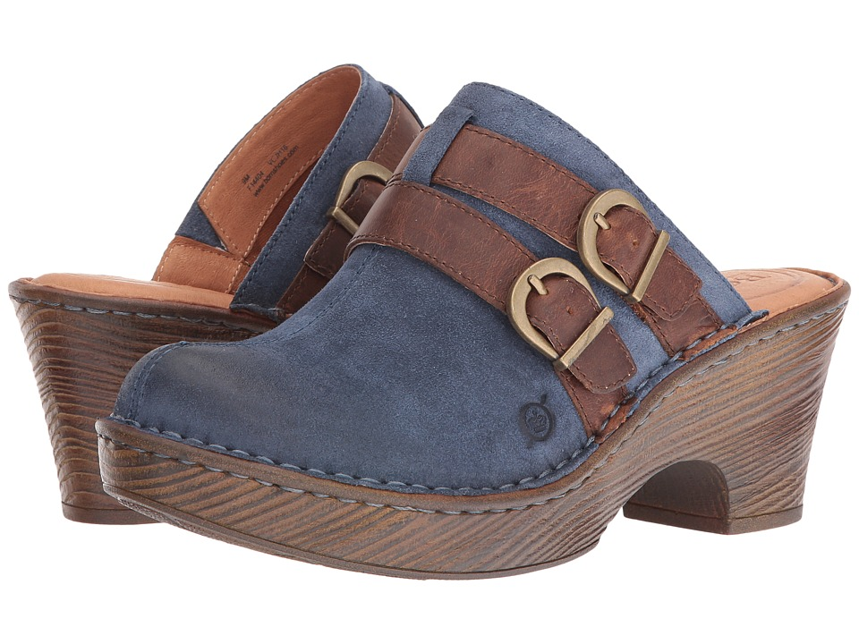 Born - Laura (Blue) Women's Shoes
