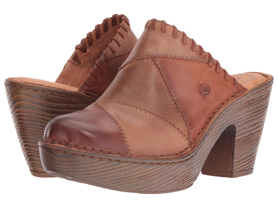 Born - Michaela (Natural/Brown/Light Brown) Women's Shoes