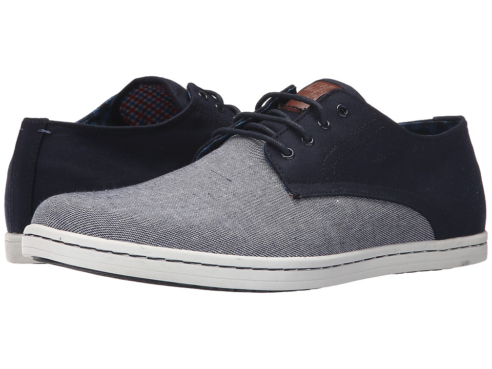 Ben Sherman - Presley Oxford (Navy/Linen) Men