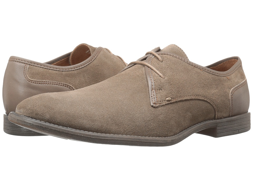 Robert Wayne - Giona (Sand Suede) Men's Lace up casual Shoes