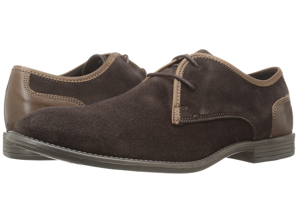 Robert Wayne - Giona (Brown Suede) Men's Lace up casual Shoes