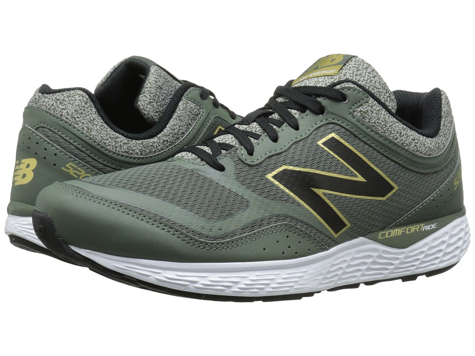 New Balance - M520V2 (Defense Green/Classic Gold) Men's Shoes
