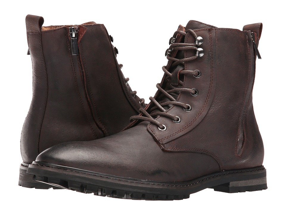 Robert Wayne - Thomas (Brown) Men's Lace-up Boots