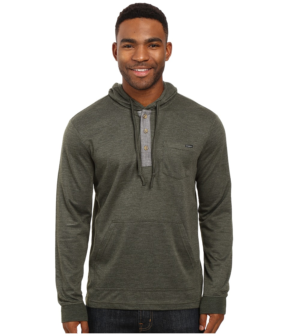 O'Neill - Hatch Pullover (Dark Olive) Men's Clothing