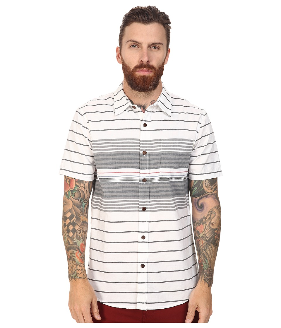 O'Neill - Tandy Short Sleeve Top (White) Men's Clothing