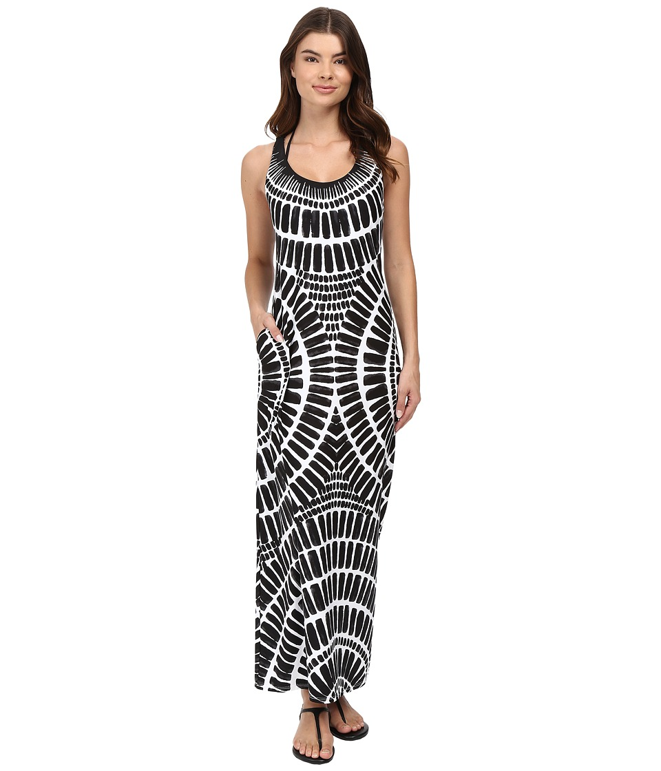 Trina Turk - Algiers Long Dress Cover-Up (Black) Women's Swimwear