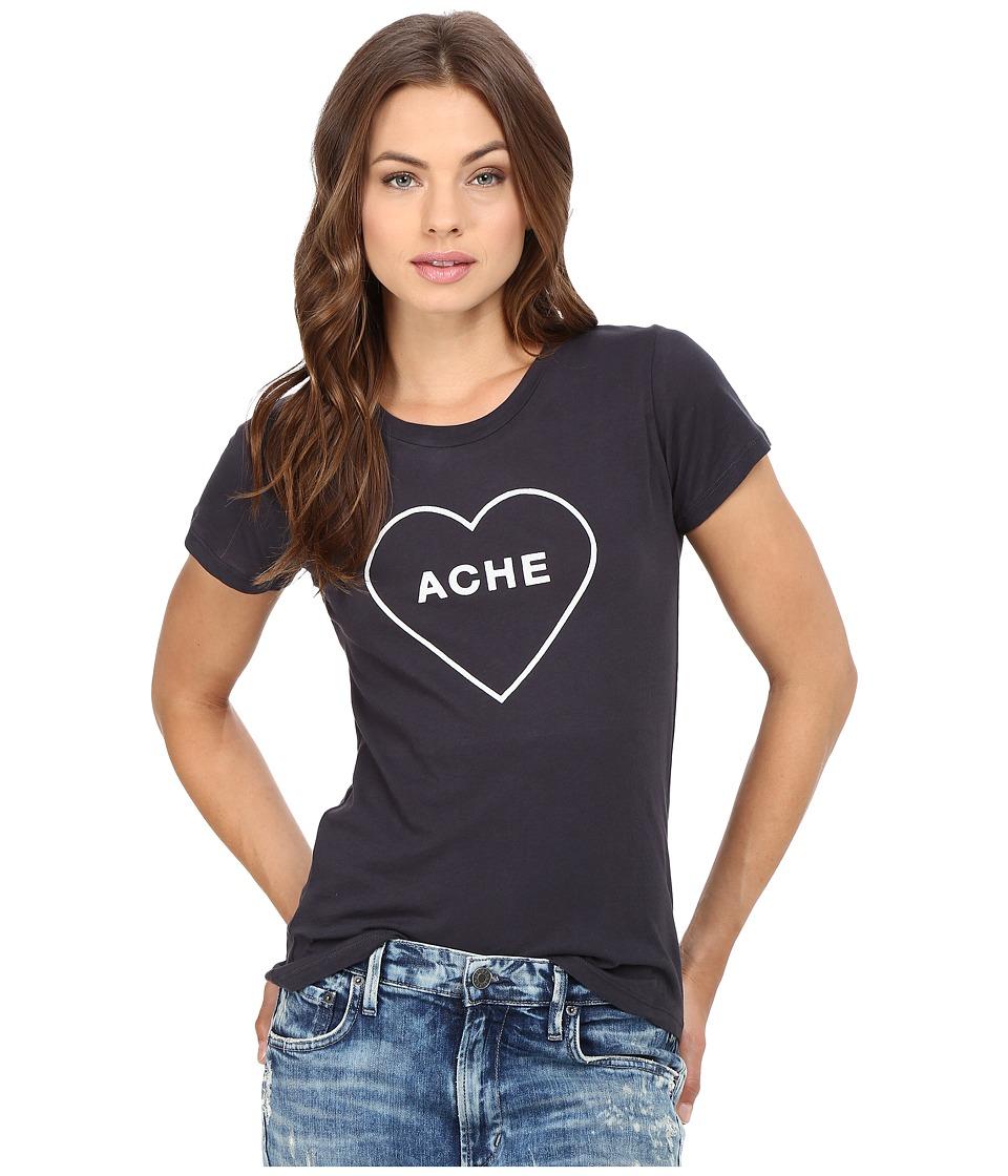 Clayton - Heartache Basic Tee (Charcoal) Women's T Shirt