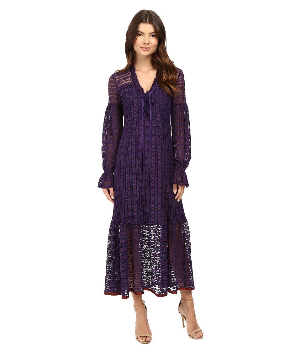 Nanette Lepore Rhapsody Dress (Plum Multi) Women
