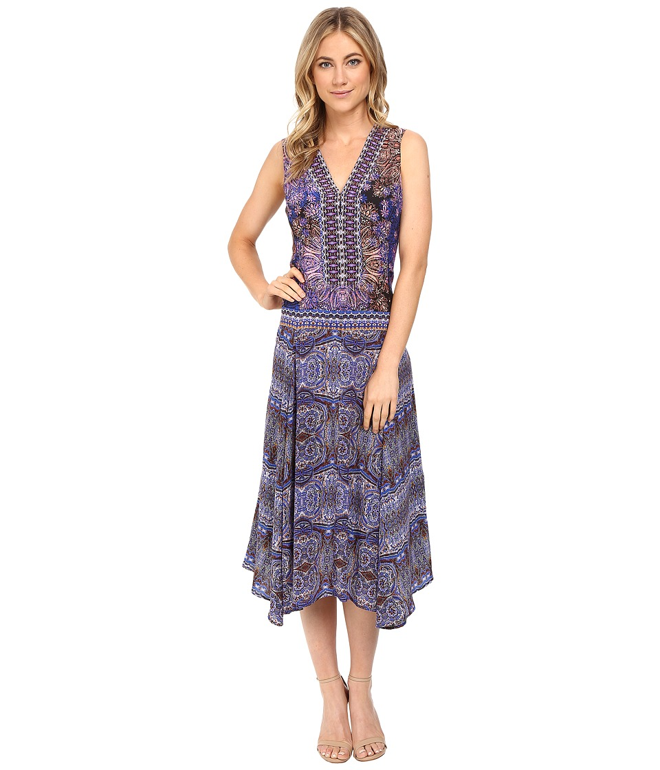 Nanette Lepore - Kilim Maxi (Lilac Multi) Women's Dress